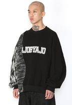 Long Sleeve Unisex Street Style U-Neck Long Sleeves Cotton 14
