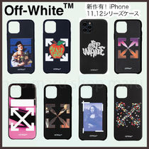 Off-White Flower Patterns Street Style Other Animal Patterns Silicon