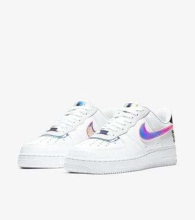 Nike AIR FORCE 1 Unisex Street Style Logo Sneakers