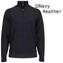 Tommy Hilfiger Sweaters Pullovers Long Sleeves Plain Cotton Logo Sweaters 7