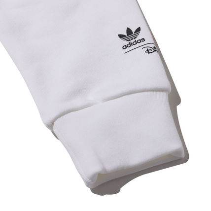 adidas Hoodies Unisex Street Style Collaboration Long Sleeves Plain Cotton 7