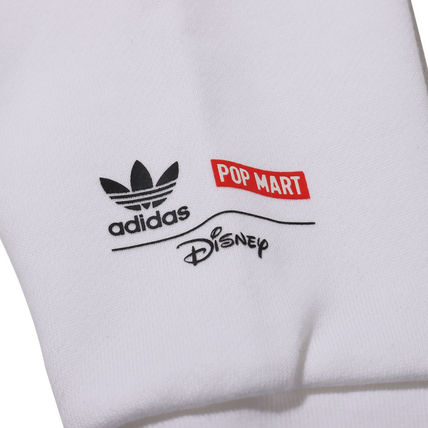 adidas Hoodies Unisex Street Style Collaboration Long Sleeves Plain Cotton 8