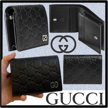 GUCCI Street Style Logo Card Holders