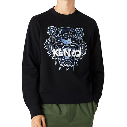 KENZO Sweatshirts Pullovers Long Sleeves Cotton Logo Designers Sweatshirts 2