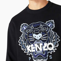 KENZO Sweatshirts Pullovers Long Sleeves Cotton Logo Designers Sweatshirts 5