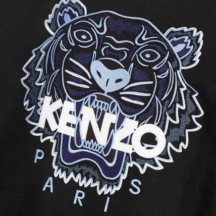 KENZO Sweatshirts Pullovers Long Sleeves Cotton Logo Designers Sweatshirts 7