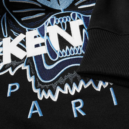 KENZO Sweatshirts Pullovers Long Sleeves Cotton Logo Designers Sweatshirts 8