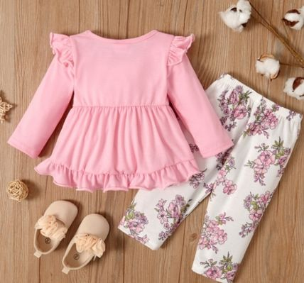 PatPat Co-ord Street Style Baby Girl Bottoms