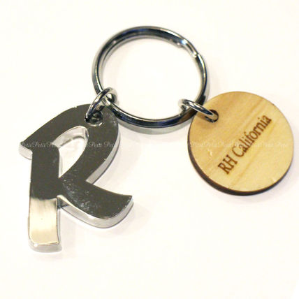 Ron Herman Unisex Logo Keychains & Bag Charms