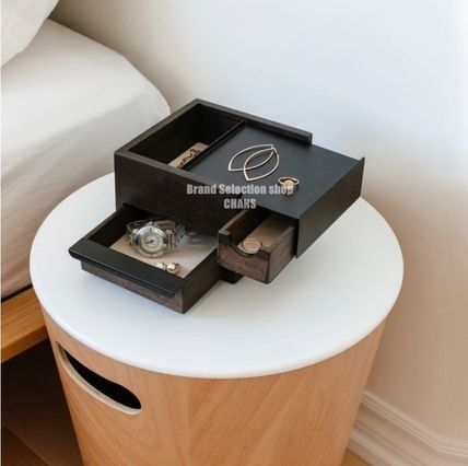 Umbra Wooden Furniture Make-up Organizer Jewelry Organizer