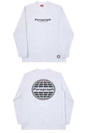 Paragraph More T-Shirts Unisex Street Style Logo T-Shirts 13