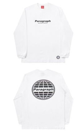 Paragraph More T-Shirts Unisex Street Style Logo T-Shirts 16