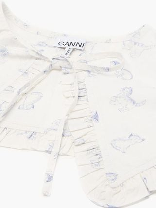 Ganni Casual Style Collars