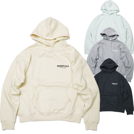 FEAR OF GOD Hoodies Street Style Long Sleeves Cotton Logo Hoodies