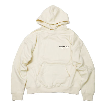 FEAR OF GOD Hoodies Street Style Long Sleeves Cotton Logo Hoodies 2