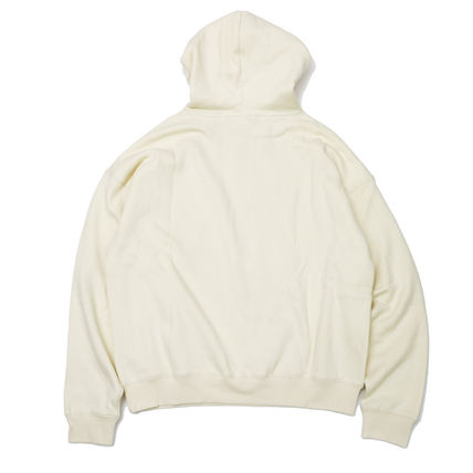 FEAR OF GOD Hoodies Street Style Long Sleeves Cotton Logo Hoodies 3