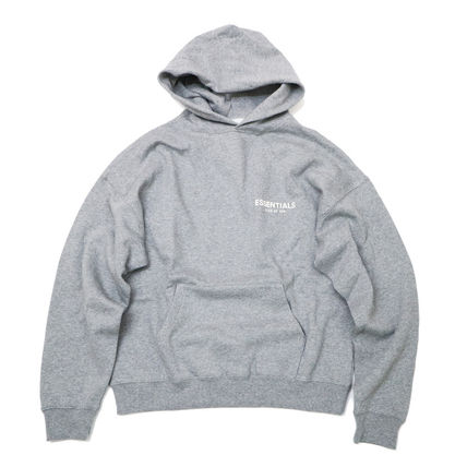 FEAR OF GOD Hoodies Street Style Long Sleeves Cotton Logo Hoodies 11