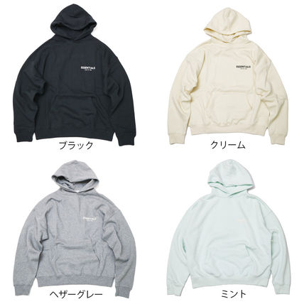 FEAR OF GOD Hoodies Street Style Long Sleeves Cotton Logo Hoodies 16