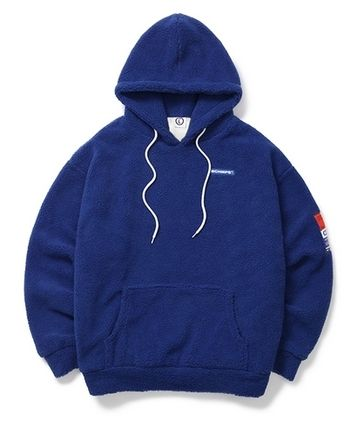 Born Champs Hoodies Pullovers Unisex Street Style Long Sleeves Oversized Logo 9