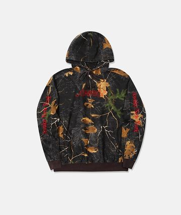 Flower Patterns Camouflage Unisex Street Style Logo