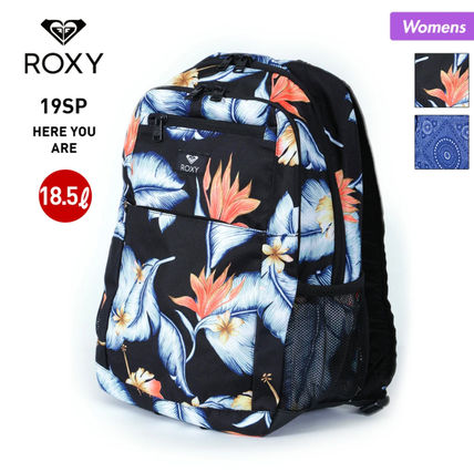ROXY Flower Patterns Paisley Tropical Patterns Casual Style A4