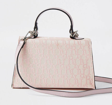 River Island Casual Style Logo Satchels