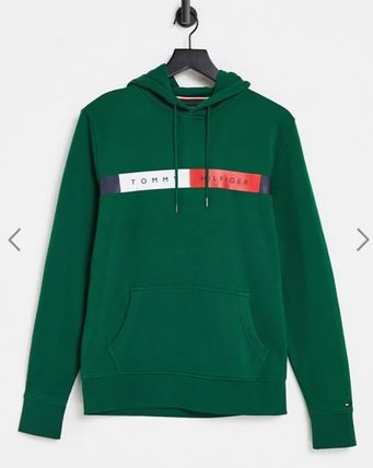 Tommy Hilfiger Hoodies Pullovers Street Style Long Sleeves Cotton Logo Hoodies 2