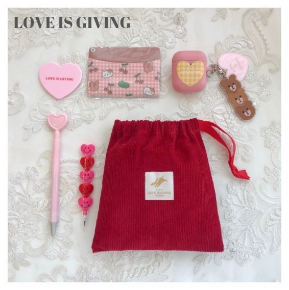 shop love is giving accessories