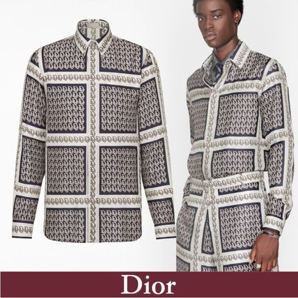Christian Dior Shirts Dior Oblique Shirt