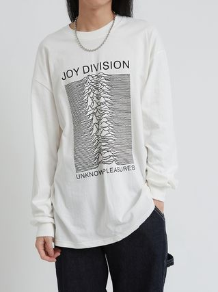 Raucohouse Long Sleeve Unisex Street Style Collaboration Long Sleeves Cotton 2
