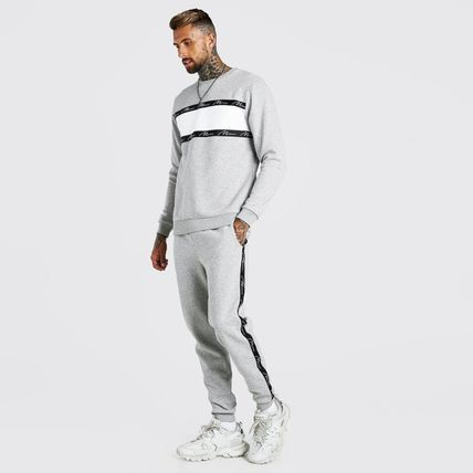 boohoo Co-ord Matching Sets Sweats Icy Color Loungewear Unisex