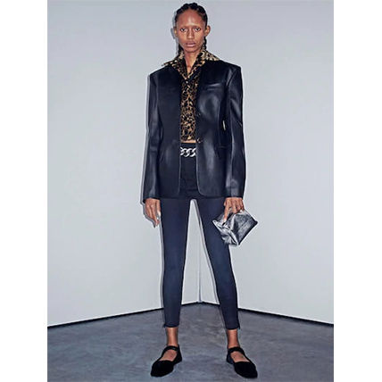 Alexander Wang Casual Style Street Style Leather Party Style Elegant Style