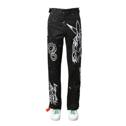 Off-White More Jeans Unisex Street Style Jeans 3