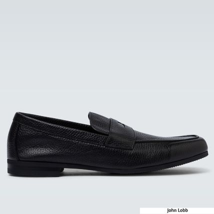 Plain Toe Loafers Plain Leather Loafers & Slip-ons
