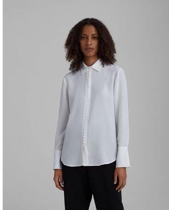 Office Style Elegant Style Formal Style  Shirts & Blouses