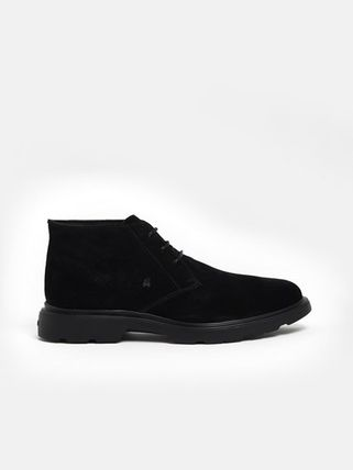 Suede Street Style Boots