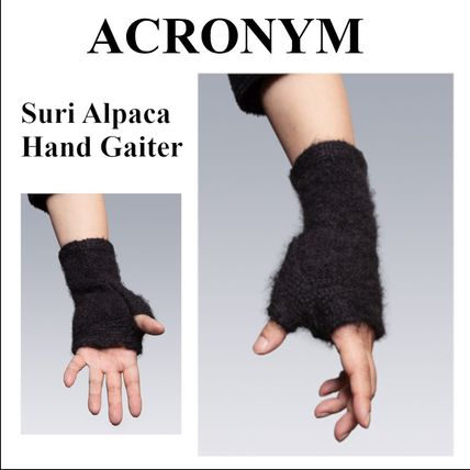 ACRONYM Unisex Wool Plain Street Style Touchscreen Gloves