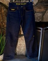 drew house More Jeans Unisex Street Style Cotton Jeans 5