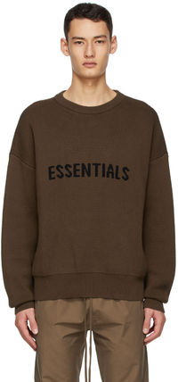 FEAR OF GOD Sweaters Crew Neck Unisex Street Style Collaboration Logo Sweaters 2