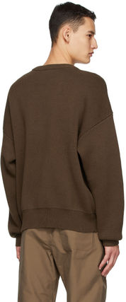 FEAR OF GOD Sweaters Crew Neck Unisex Street Style Collaboration Logo Sweaters 4