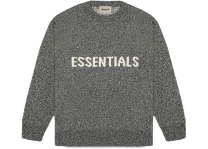 FEAR OF GOD Sweaters Crew Neck Unisex Street Style Collaboration Logo Sweaters 11