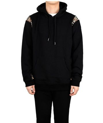Burberry Hoodies Street Style Plain Logo Luxury Hoodies 2