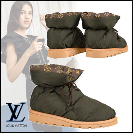 Louis Vuitton Monogram Casual Style Elegant Style Boots Boots