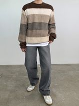 HUE More Jeans Slax Pants Denim Street Style Collaboration Plain Jeans 4