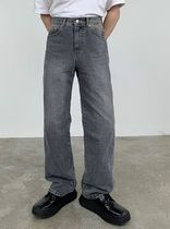 HUE More Jeans Slax Pants Denim Street Style Collaboration Plain Jeans 9