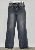 HUE More Jeans Slax Pants Denim Street Style Collaboration Plain Jeans 10