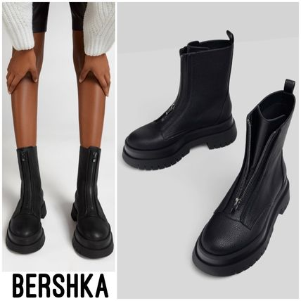 Bershka More Boots Casual Style Street Style Plain Boots Boots