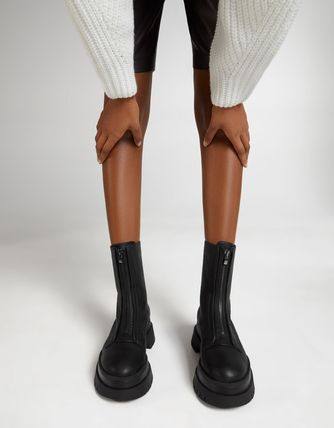 Bershka More Boots Casual Style Street Style Plain Boots Boots 3