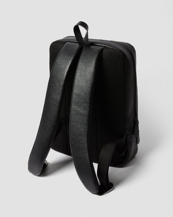 Dr Martens Backpacks Casual Style Street Style A4 Plain Leather Office Style 3