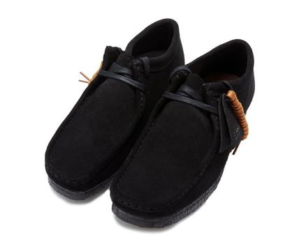 Clarks Suede Shoes